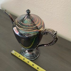 F. B.R. Dining - Antique silver on copper coffee pot